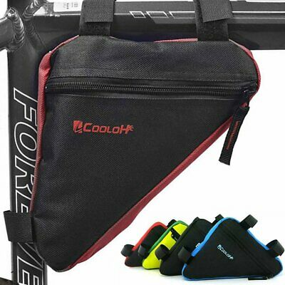 Cycling Road Bike MTB Bicycle Front Tube Triangle Storage Bag Pack Pouch New UK • 5.69£