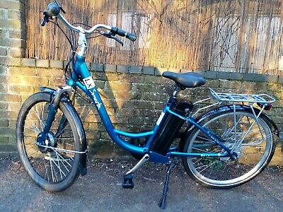 Smarta LX Electric Bicycle. Blue, In Great Condition • 146£