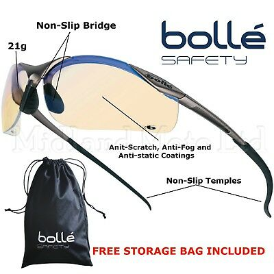 Bolle Contour ESP Lens Safety Glasses.  CONTESP • 10.62£