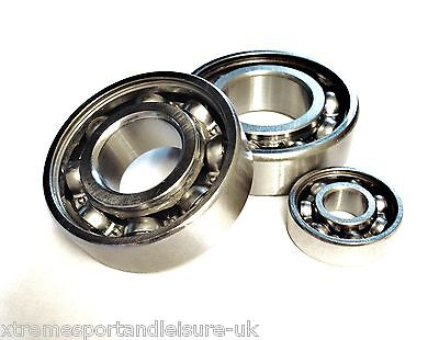 6200 - 6206 OPEN SERIES..HIGH PERFORMANCE BEARINGS..Select Chrome Or Stainless  • 2.26£