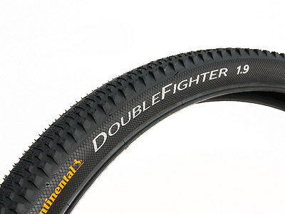 Continental Double Fighter III - Tyre Rigid  - 26 X 1.9 • 18.99£