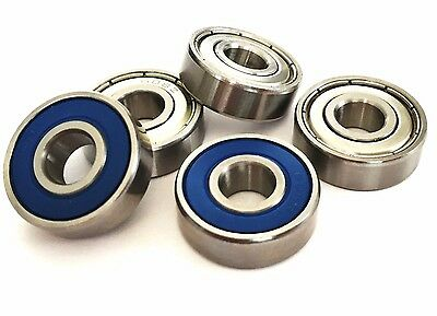 608 2rs 608 Zz [8x22x7] HIGH PERFORMANCE BEARINGS CHROME Or STAINLESS  UK SELLER • 9.95£