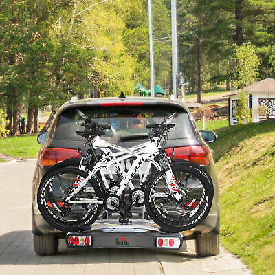 3 Bicycle Carrier Rear-mounted SUV Mountain Hitch Mounted Rack • 144.99£