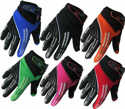 Childrens KIDS Motocross GLOVES Enduro BMX Off Road Racing Cycling  • 8.95£