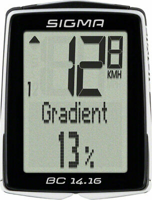 Sigma BC 14.16 Wired Cycling Computer • 49.22£