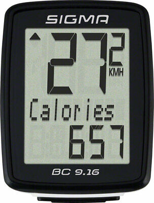 Sigma BC 9.16 Wired Cycling Computer • 27.07£