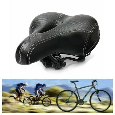 Universal Extra Wide Comfy Cushioned Bicycle Gel Saddle Bike Seat Soft Padded • 17.97£