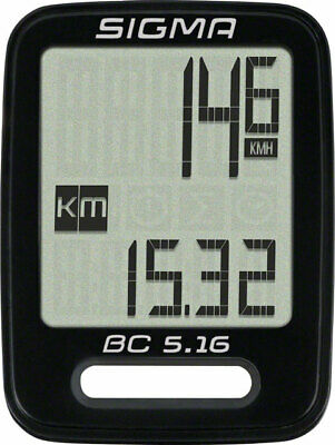 Sigma BC 5.16 Wired Cycling Computer • 19.55£