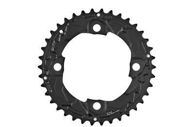 Shimano Chainring DEORE Black Alloy MTB FC-M617/M627/M677 38T 104mm BCD UK • 21.99£