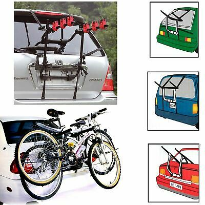 2 & 3 Bicycle Carrier Car Rack Bike Cycle Universal Fits Most Cars Rear Mount • 44.95£