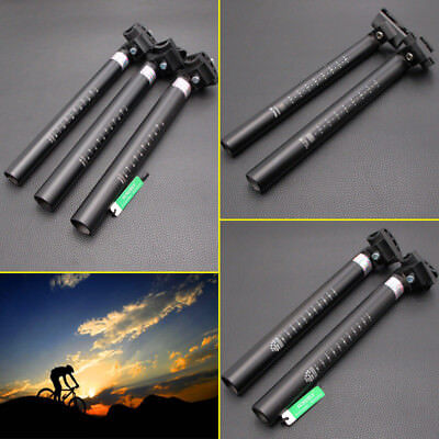 MTB Bicycle Seatpost Aluminium Alloy Cycling Road Mountain Bike Seat Post 300mm • 16.02£