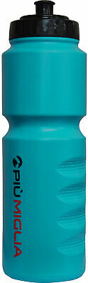 Piu Miglia Sports Drinks Water Bottle Blue 1000ml Hand Grips Cycling Gym Running • 4.99£