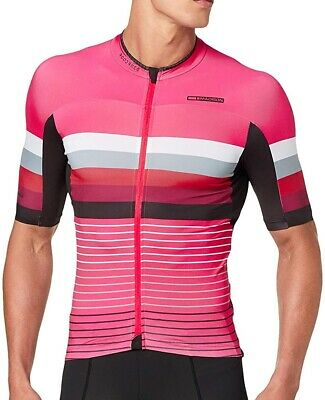 Madison Road Race Premio Short Sleeve Mens Cycling Jersey - Pink • 40.49£