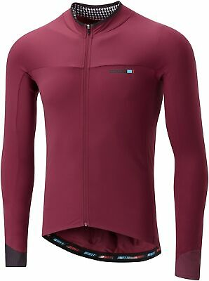 Madison Road Race Light Long Sleeve Mens Cycling Jersey - Red • 42.99£