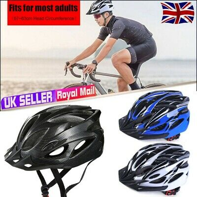 Bicycle Helmet Bike Cycling Adult Adjustable Unisex Safety Helmet Outdoor Sports • 13.99£