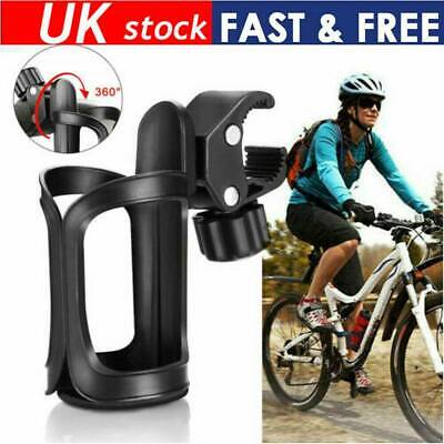 360° Baby Stroller Mountain Bike Bicycle Cycling Water Drink Bottle Holder CA UK • 5.28£
