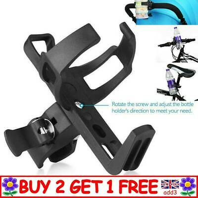 Baby Stroller Bike Bicycle Handlebar Water Bottle Cup Holder Mount Cage UK A4 • 4.95£