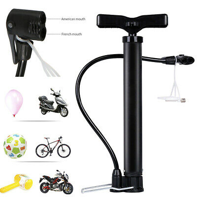 120psi Portable Mini Bicycle Pump Mountain Bike Air Pressure Tyre Ball Inflator • 5.99£