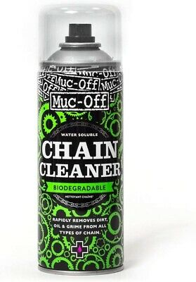 Muc-Off Bio Chain Cleaner 400ml Spray Suitable For All Bicycle Chains • 6.99£