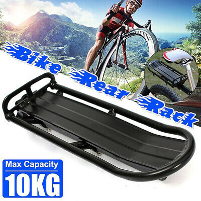 Bicycle Mountain Bikes Rear Rack Seat Post Mounted Pannier Luggage Carrier Bags • 13.20£