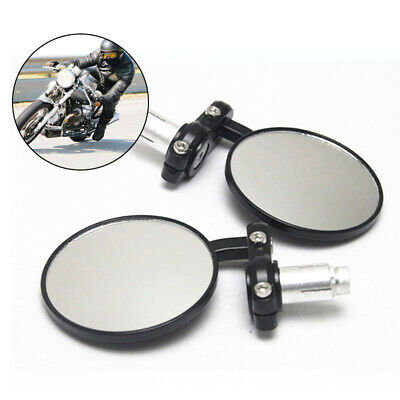 Motorcycle Bike Handlebar Bicycle Rearview Mirror Durable Rear Side View Mirrors • 11.79£