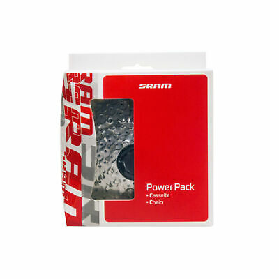 SRAM Powerpack PG-730 MTB Mountain Bike Cycle Cassette And PC-830 Chain 7 Speed • 18.53£