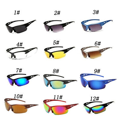 Anti Shock Outdoor Cycling Sunglasses Biking/Running/Fishing/Golf Sports Glasses • 3.45£