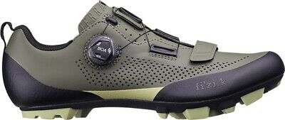 Fizik X5 Terra Mens MTB Cycling Shoes - Green • 133.99£