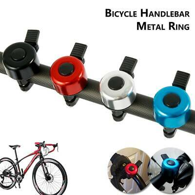 One Touch Push Bike Bell Loud Handlebar Ring Ping Horn Mountain Road Bicycle • 2.59£