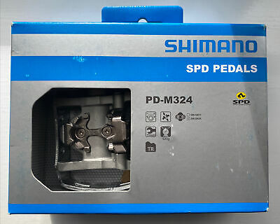 Shimano PDM324 SPD Clipless Mountain Bike Touring Pedals • 25£