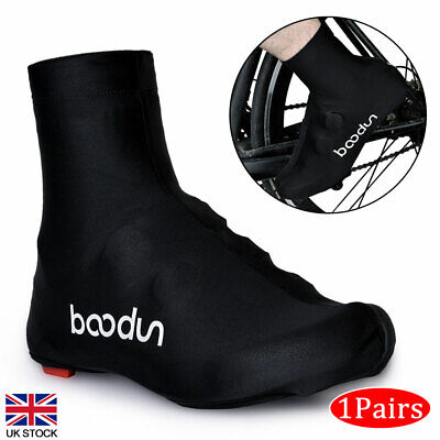 Waterproof Cycling Shoe Covers Anti-Slip Shoes Cover MTB Road Bike Overshoes New • 10.87£