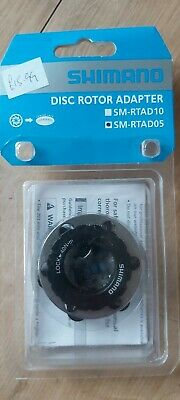 Shimano Disc Rotor Adaptor 6 Bolt To Splined • 12£