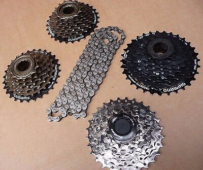 KMC Z51 Chain & Freewheel Or Cassette 6 7 8 Speed Bike Bicycle MTB Road Hybrid • 29.99£