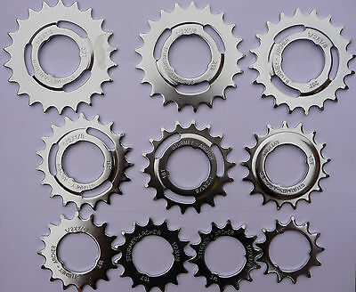 Sturmey Archer 3 Speed Sprocket Rear Cog Sizes: 13 14 15 16 17 18 19 20 21 22 T • 4.99£