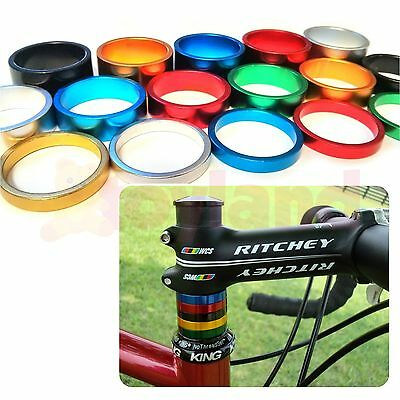 Bike Headset Spacers 1⅛  Bicycle Cnc Machine Light Alloy 5 10 15mm Fixie Bmx Mtb • 2.35£