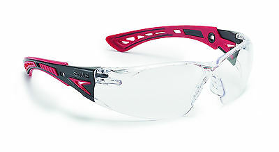 Bolle RUSH+ Safety Glasses - RUSHPPSI - UV Eye Protection - Clear Anti Fog • 9.50£