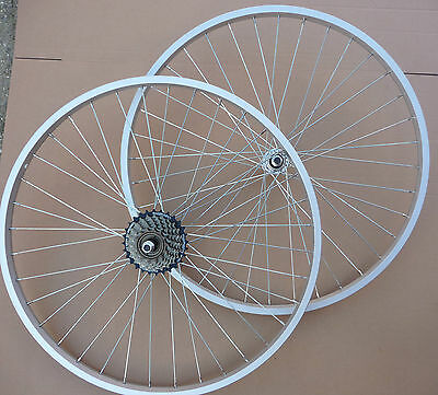 WHEELS 26  Bicycle Mountain Bike Cycle Front &/or Rear Add Gears 6 / 7 Speed  • 34.99£