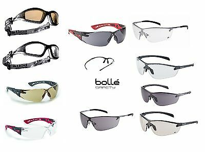 BOLLE Safety Glasses, Various Types - Pouch & Adjustable Cord With Some Models. • 11.43£