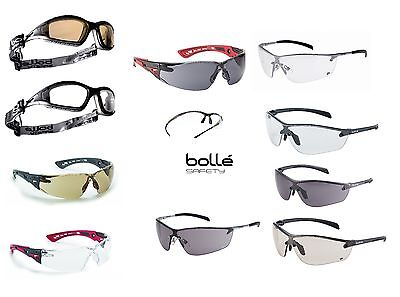 BOLLE Safety Glasses, Various Types - Pouch & Adjustable Cord With Some Models. • 10.88£