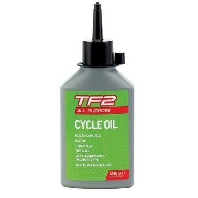 WELDTITE TF2 ALL PURPOSE LUBE ROAD MTB BIKE BICYCLE CYCLE CHAIN OIL - 125ml • 5.79£