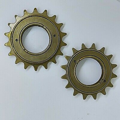 Cheap Economy 1/8  SINGLE SPEED FREEWHEEL COG 16T Or 18T Bicycle Bike BMX Fixie • 4.99£