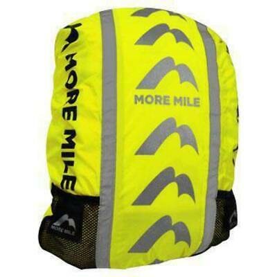More Mile High Viz Waterproof Cycling Running Backpack Bag Rucksack Rain Cover • 6.99£