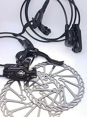 HYDRAULICS Clarks > Clout1 < Hydraulic Disc Brake Set Front & Rear 160mm Rotors  • 45.49£