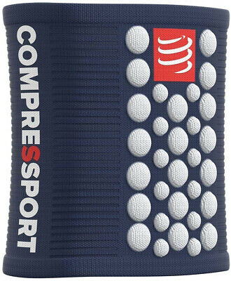 Compressport 3D Dot Sweatbands - Blue • 11.89£