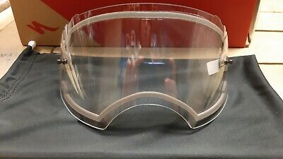 Oakley Airbrake MX Dual Lense Clear Replacement, Brand New , Goggle Lense, Mtb , • 45£