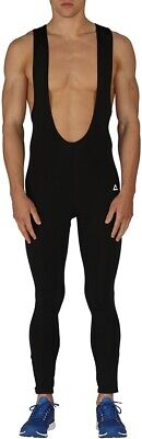 Dare2B Meteoric Mens Cycling Bib Tights Black Thermal Insulated Quick Drying • 17.99£