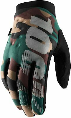 100% Brisker Cold Weather Cycling Gloves - Camo • 26.94£