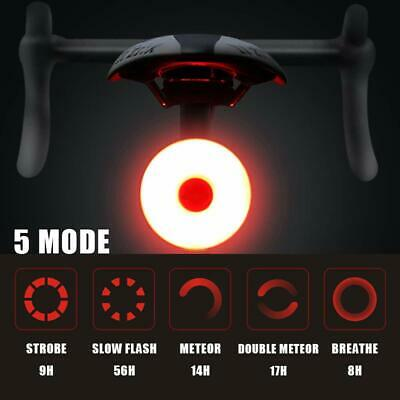 Rechargeable Bike Rear Tail Light LED USB Bicycle Cycling Waterproof Sports Lamp • 8.58£