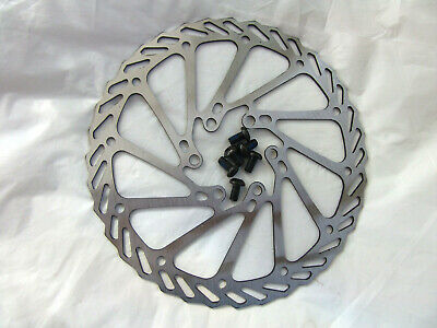 New Bike Stainless Steel Brake Disc Rotor 160mm With 6 Bolts • 5.95£