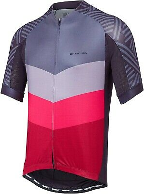 Madison Sportive Short Sleeve Mens Cycling Jersey - Grey • 30.49£